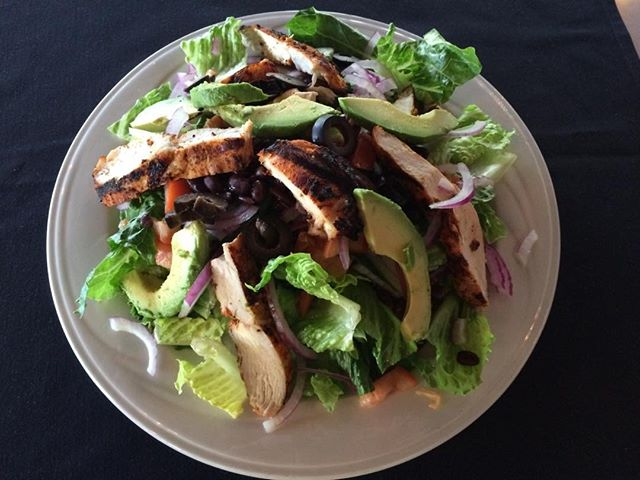 Delicious Grilled Cajun Chicken Salad!