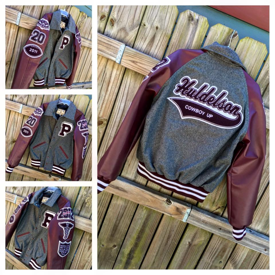 Letterman Jackets - Recognized as a traditional right of passage, varsity letter jackets are worn by students and alum with great pride. Letter jackets offer a classic look and comfortable style, decorated with custom chenille patches showcasing achievements and recognition.