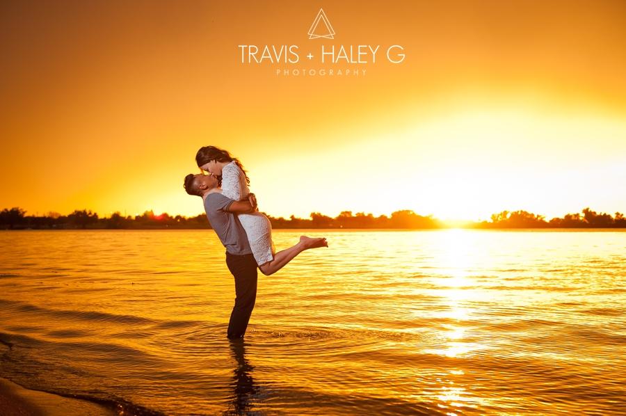 northwest library-lake hefner engagement photography-travis and haley g
