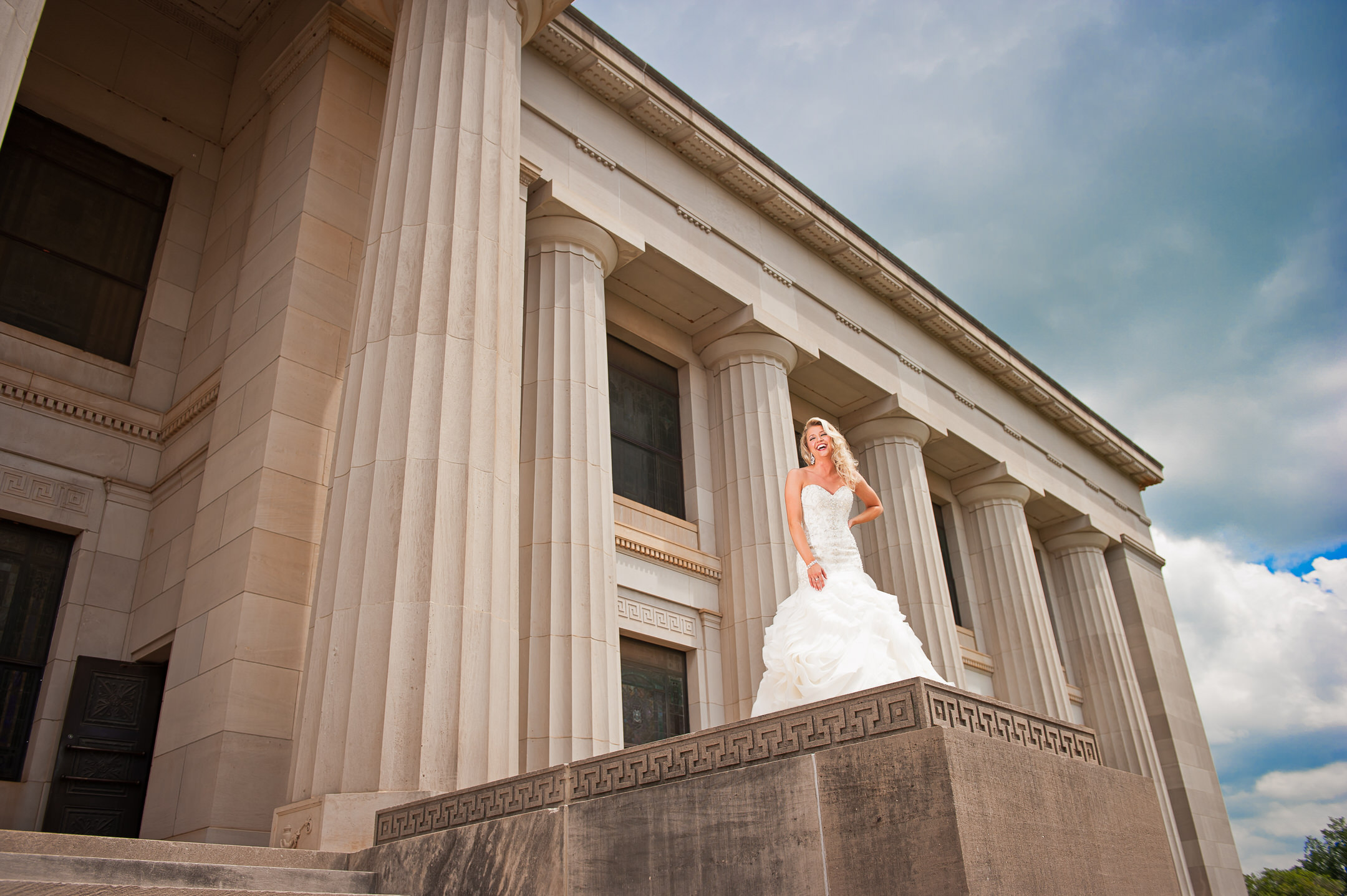 Scottish Rite Bridal Photography Travis and Haley G