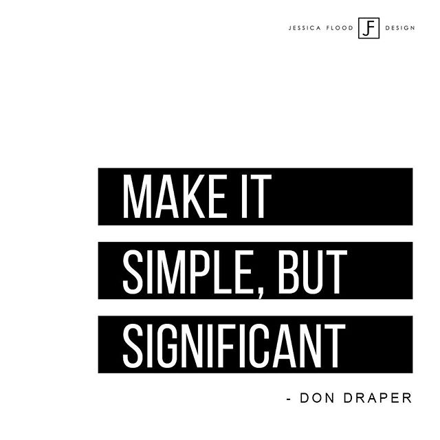 It's a simple statement, but a significant one! If your struggling with design, keep your home and decorating simple. Choose pieces that have a purpose or significance to you or your home. It doesn't need to be complicated. Simplicity is significant! 🐆  Do you have a pondering design question you need help with? Ask away below or send me a DM! 😄