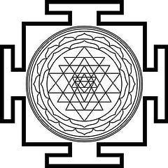 the Sri Yantra mandala