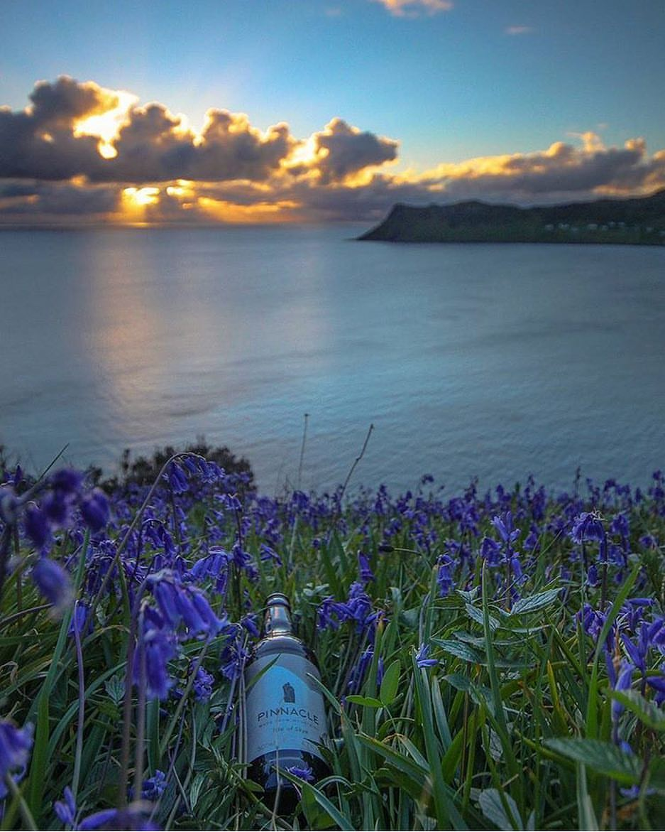 MAY'S #PINTSFORPICS WINNING SUBMISSION, SHARED VIA INSTAGRAM BY MATT DEAMER. A REAL SPRING FEEL HERE OF A PINNACLE IN AMONGST THE BLUEBELLS!