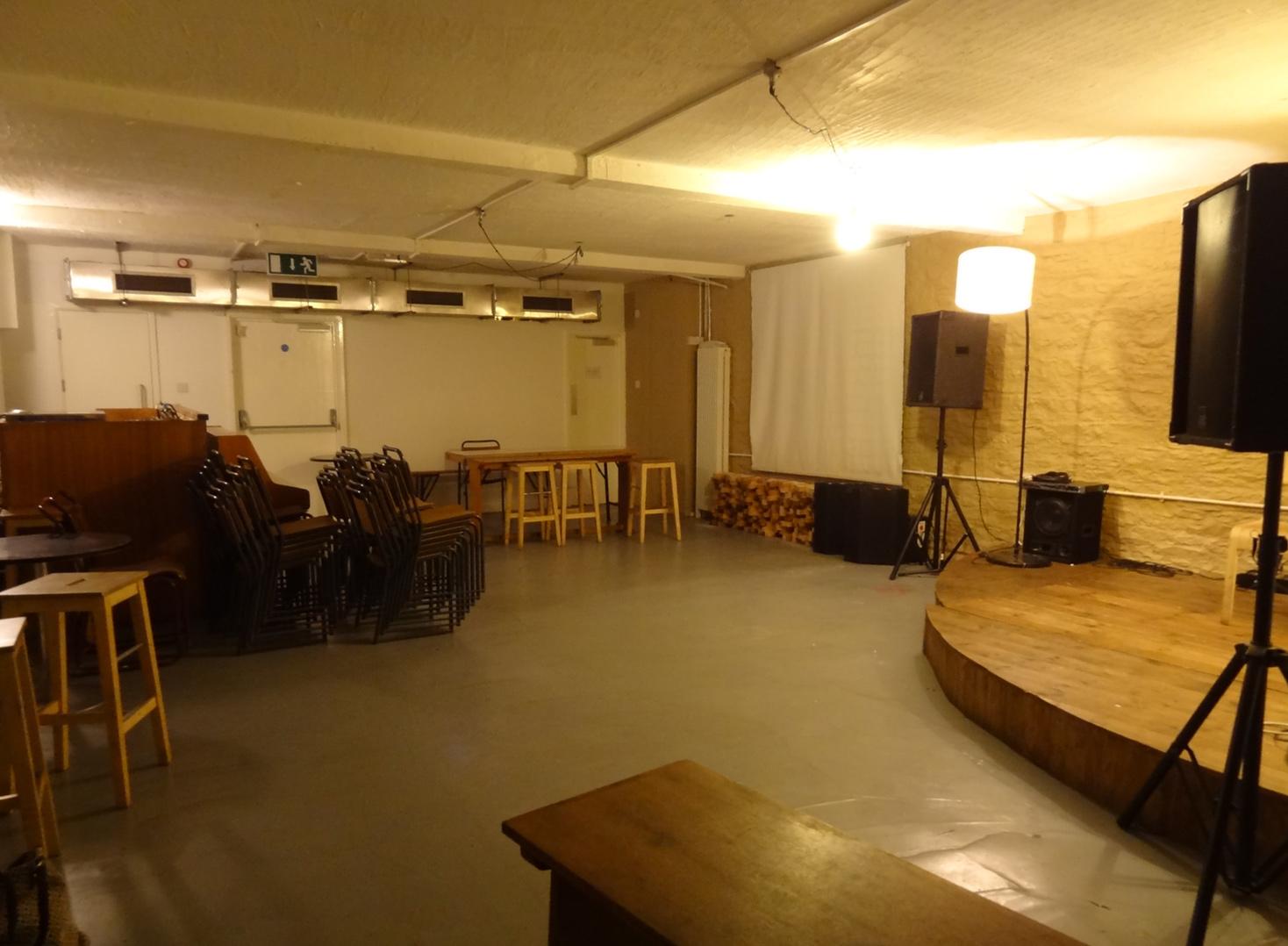 basement space hire