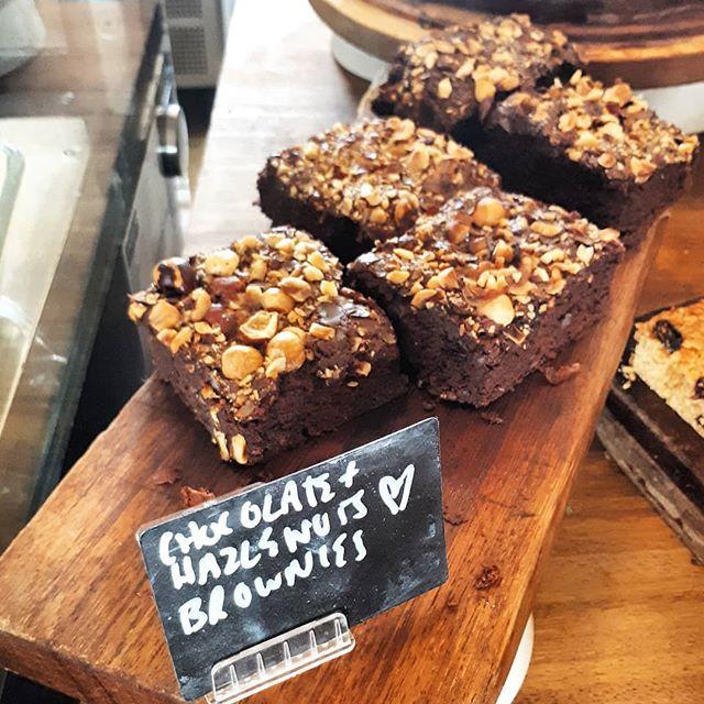 Delicious, squidgy, Hazelnut Brownies 💚💖💚💖