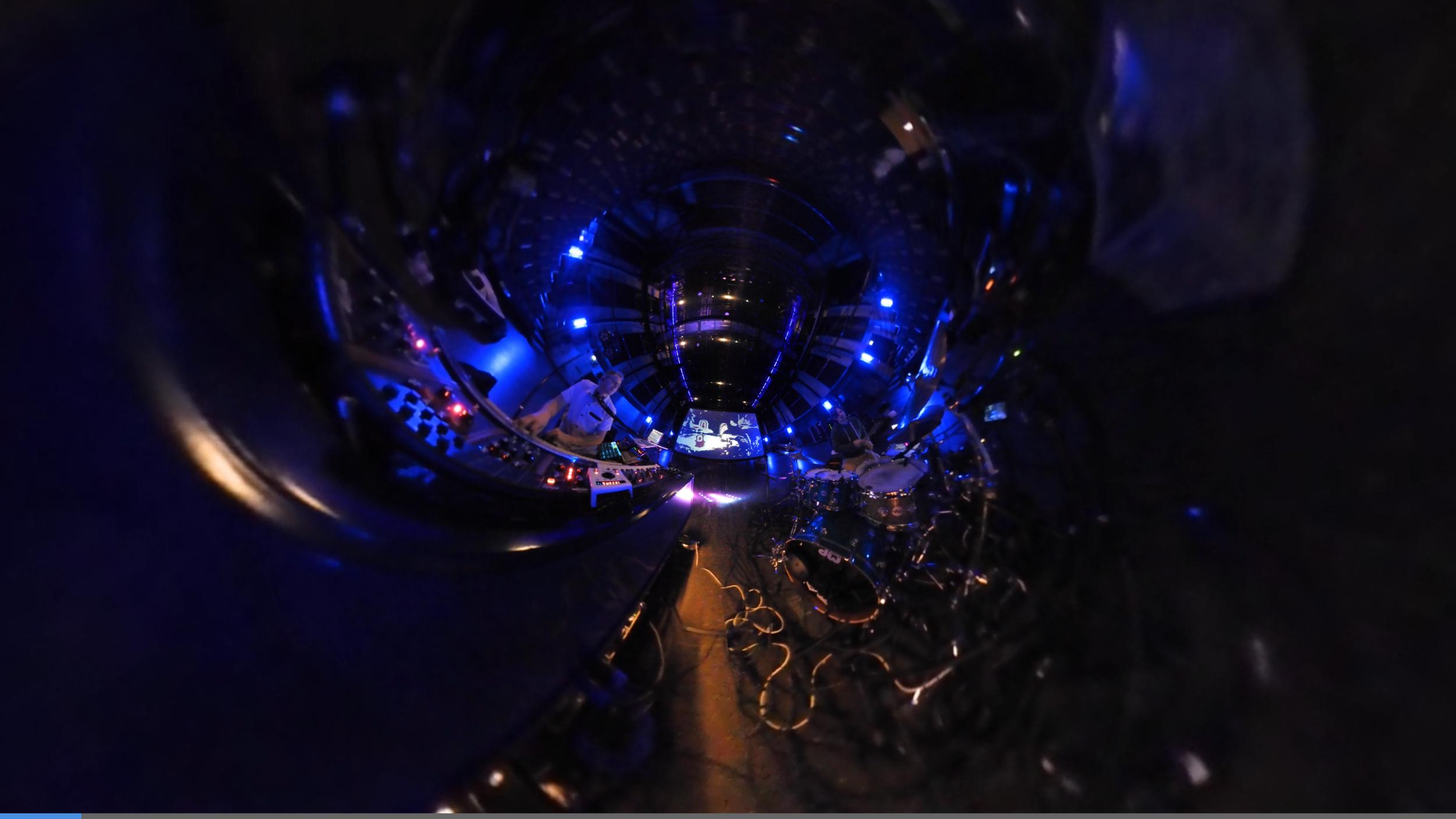 Jordi, me & Job's visuals in 360, Energiehuis Dordrecht