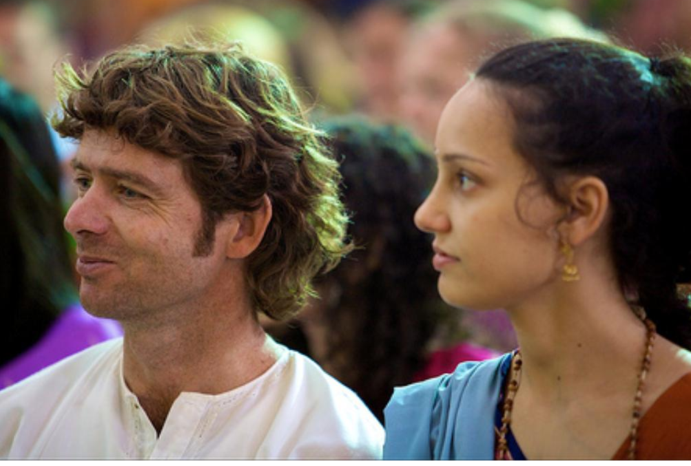 Peter Sanson and his wife Amna.