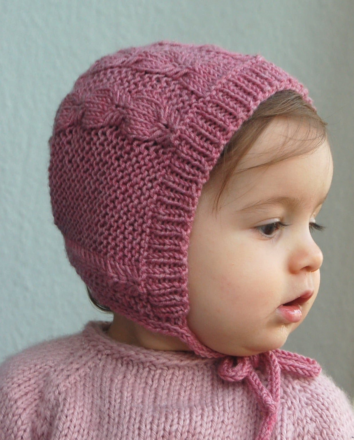 Silverfox bonnet knitting pattern by Lisa Chemery - Frogginette Knitting Patterns