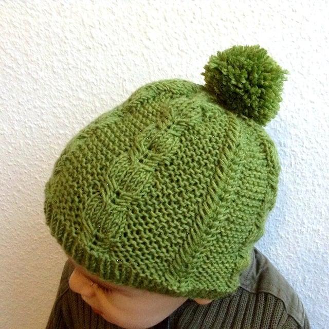 Silverfox beanie knitting pattern by Lisa Chemery - Frogginette Knitting Patterns