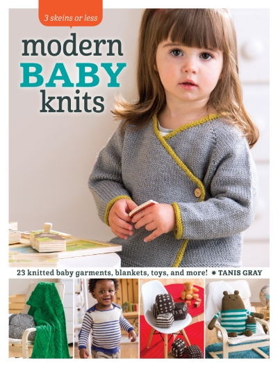 Modern Baby Knits book cover