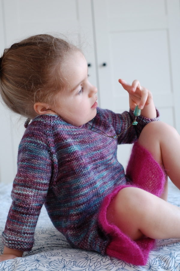 Tutu Top by Frogginette Knitting Patterns