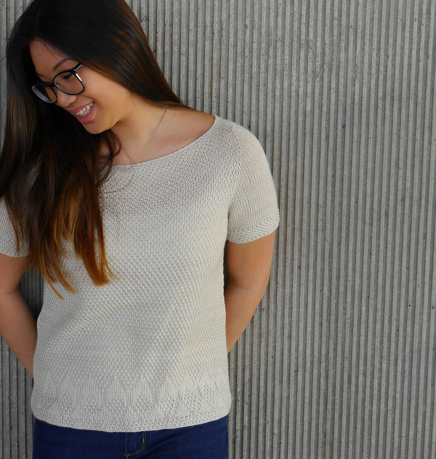 River Light Tee by Olive Knits