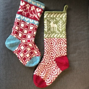 Christmas Stockings by Ukeeknits:  link to Ravelry pattern