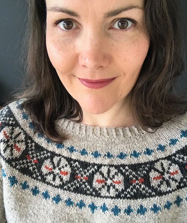 Crossroads (Adult) by Frogginette Knitting Patterns