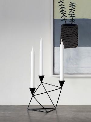 Pythagorascandleholder  Designed byBroberg & Ridderstråle