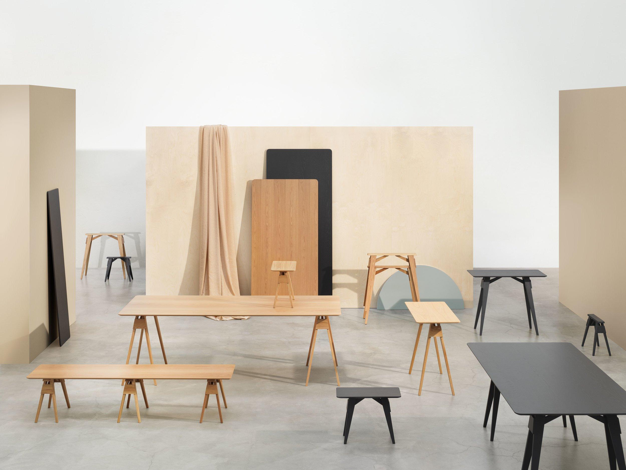 Arco tabletop & benchtop  Designed byDesign House Stockholm Studio