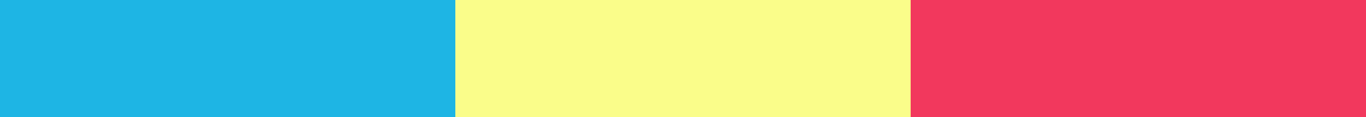Varient on a primary color scheme.