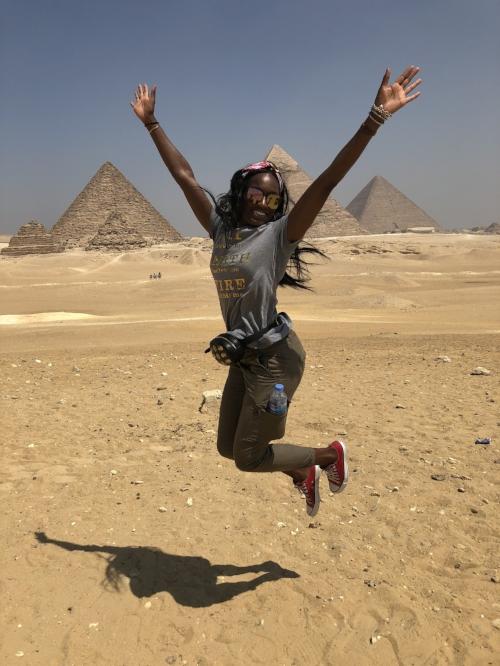 Giza - The pyramids