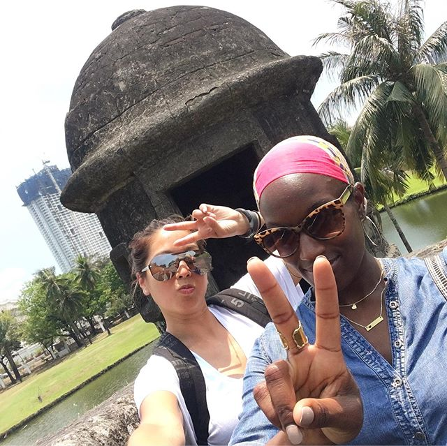 Be sure to visit the blog this week for a riveting interview with travel besties @tongeffect and @liberiangirl22 (link in bio)! ✨ #bestiesandbrunch #ontheblogtoday