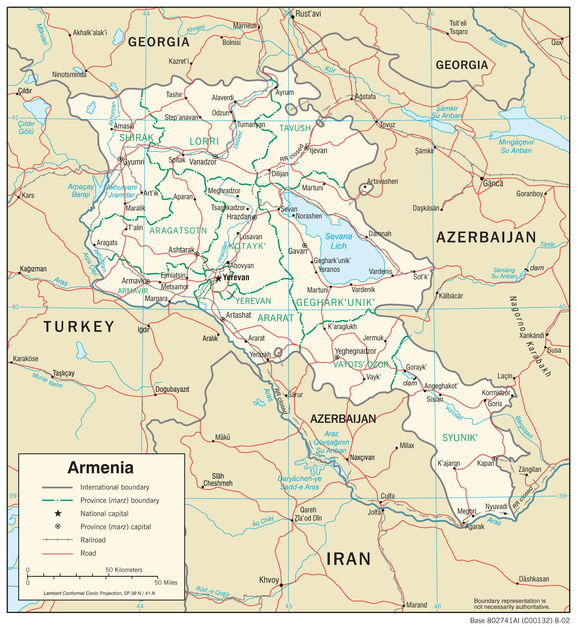 My neighbors for eight years: Turkey, Georgia, Iran, Azerbaijan and a day's drive from Baghdad, Iraq.