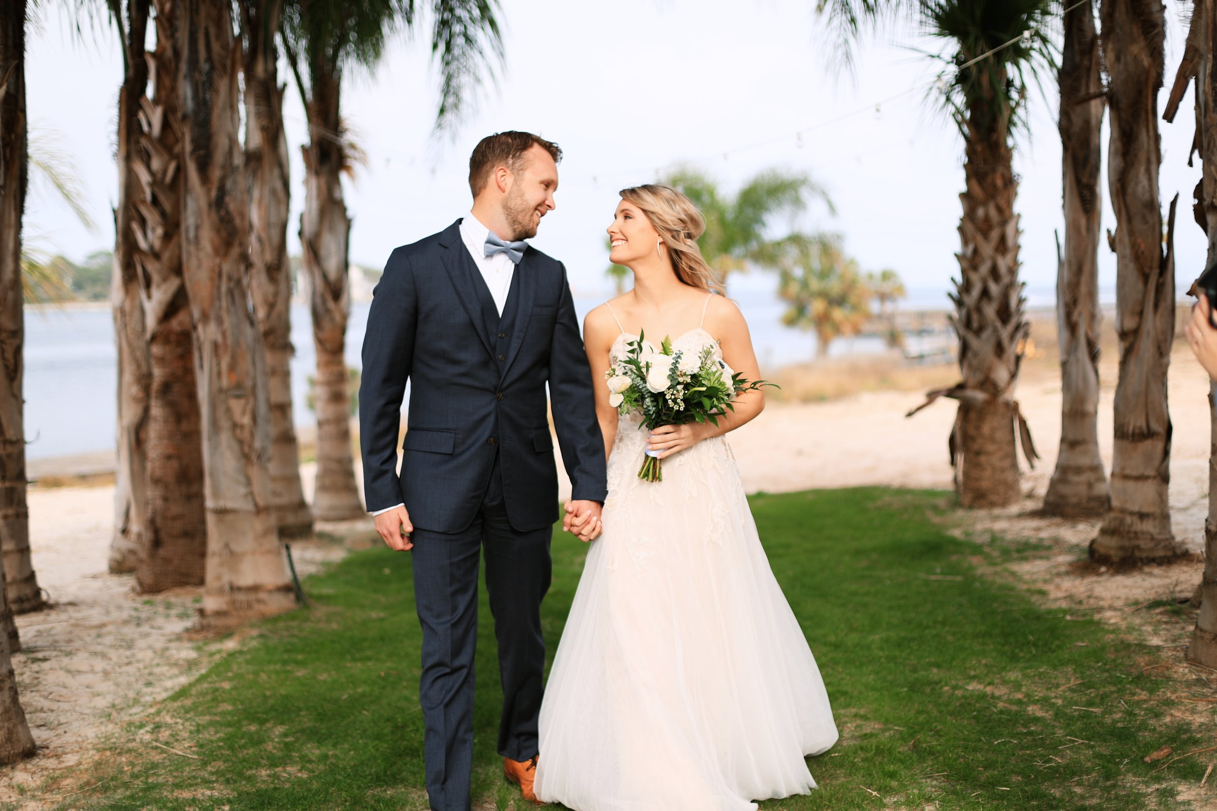 "Kelly + Matt - ""Tracy! Thank you so much for everything you did for Matt and I. The flowers were stunning! The Arbor was perfect! You are so gifted and your talent and your love for what you do shines through! Thank you! Thank you x's a million! xoxo"""