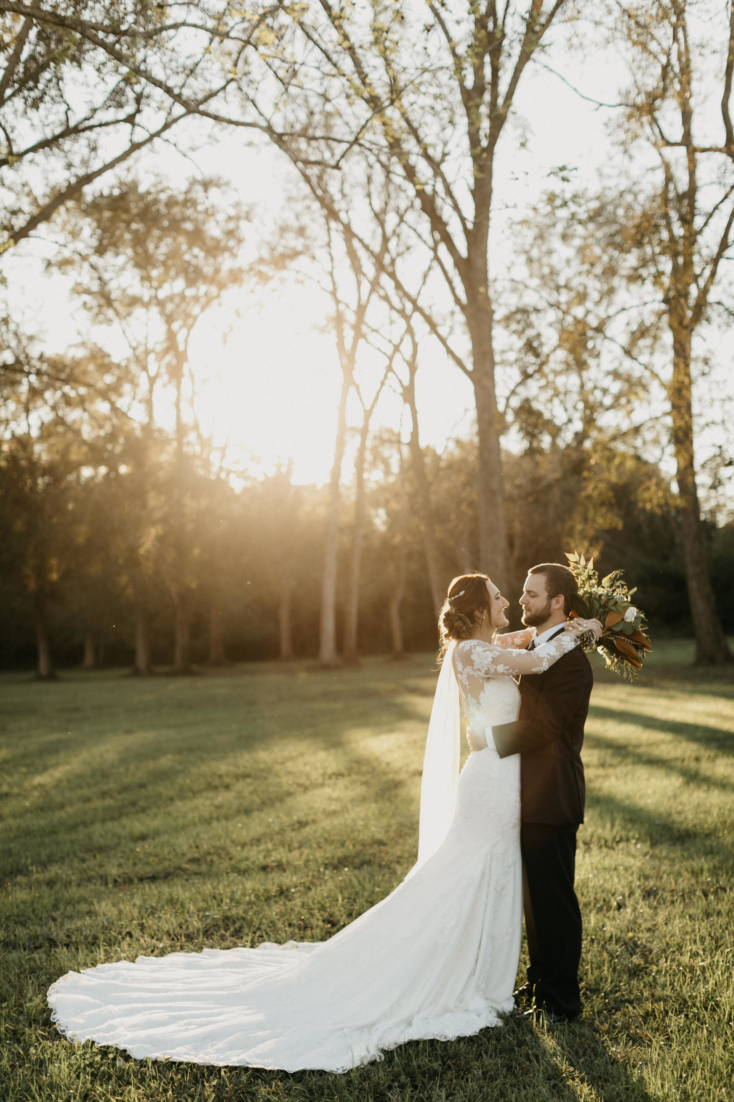 """Logan + David - """"The flowers were everything I dreamed of and more! My bridal bouquet was honestly not what I expected…it was FAR BETTER than anything I had imagined!"""""""