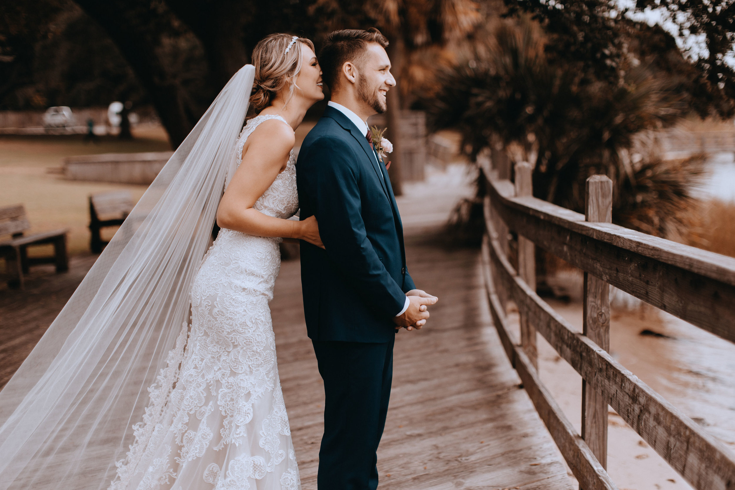 "Christina + Ryan - ""Hello! You did our wedding in October after the devastation of Hurricane Michael! Thank you SO much for doing what you did! You are truly a blessing from heaven! We are so grateful!"