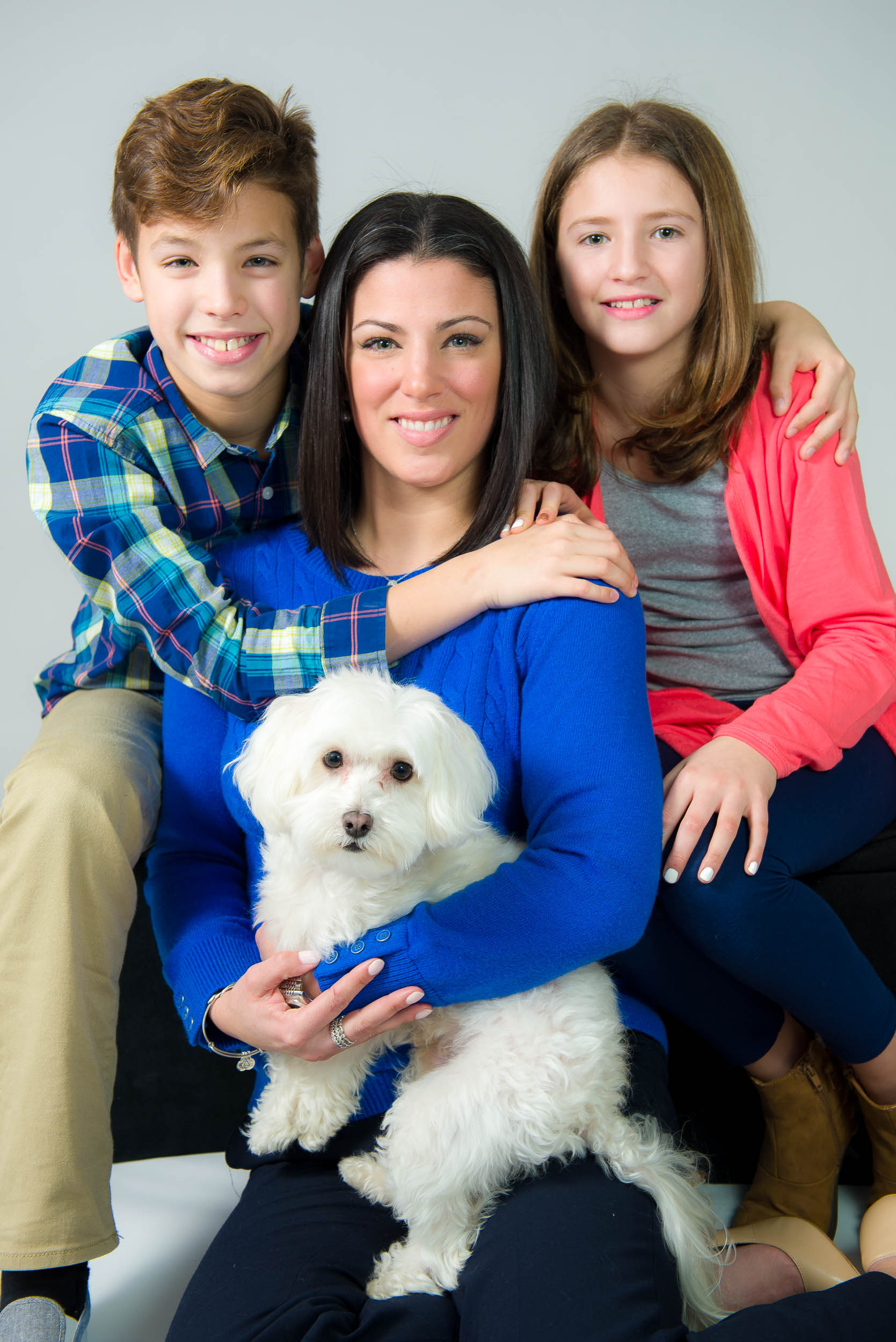 Dennis Soans Photography Family Group Portrait Fairfax VA