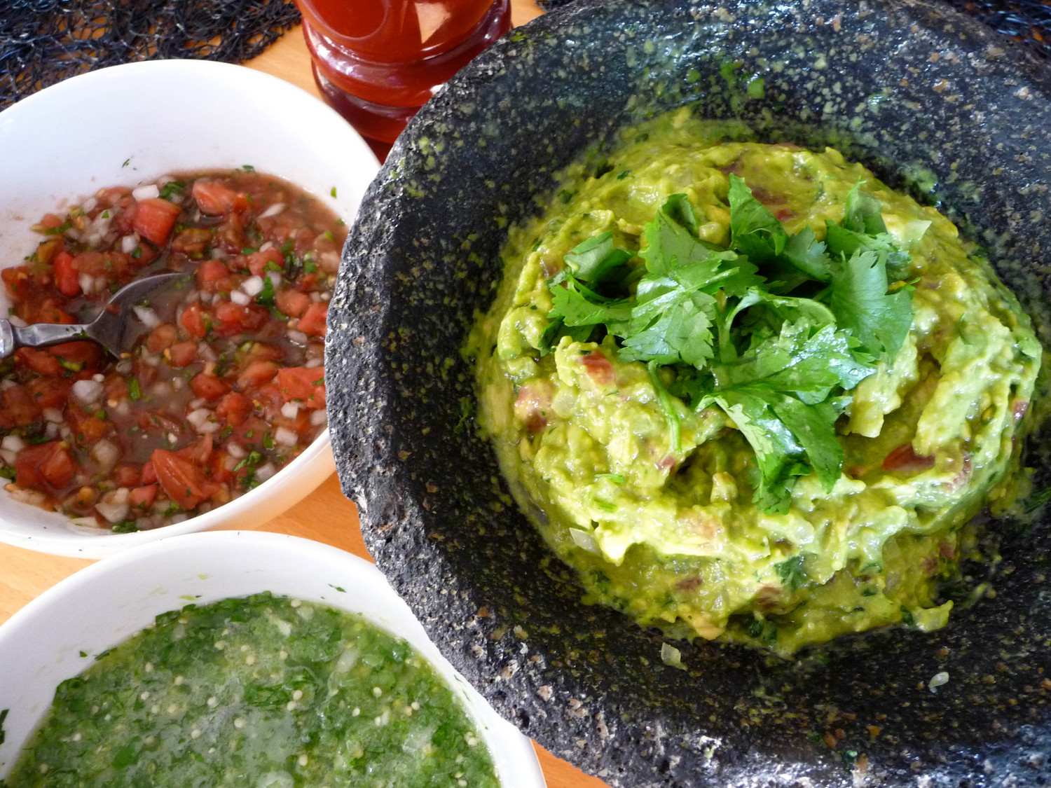 Leslie Brenner's guacamole and salsas
