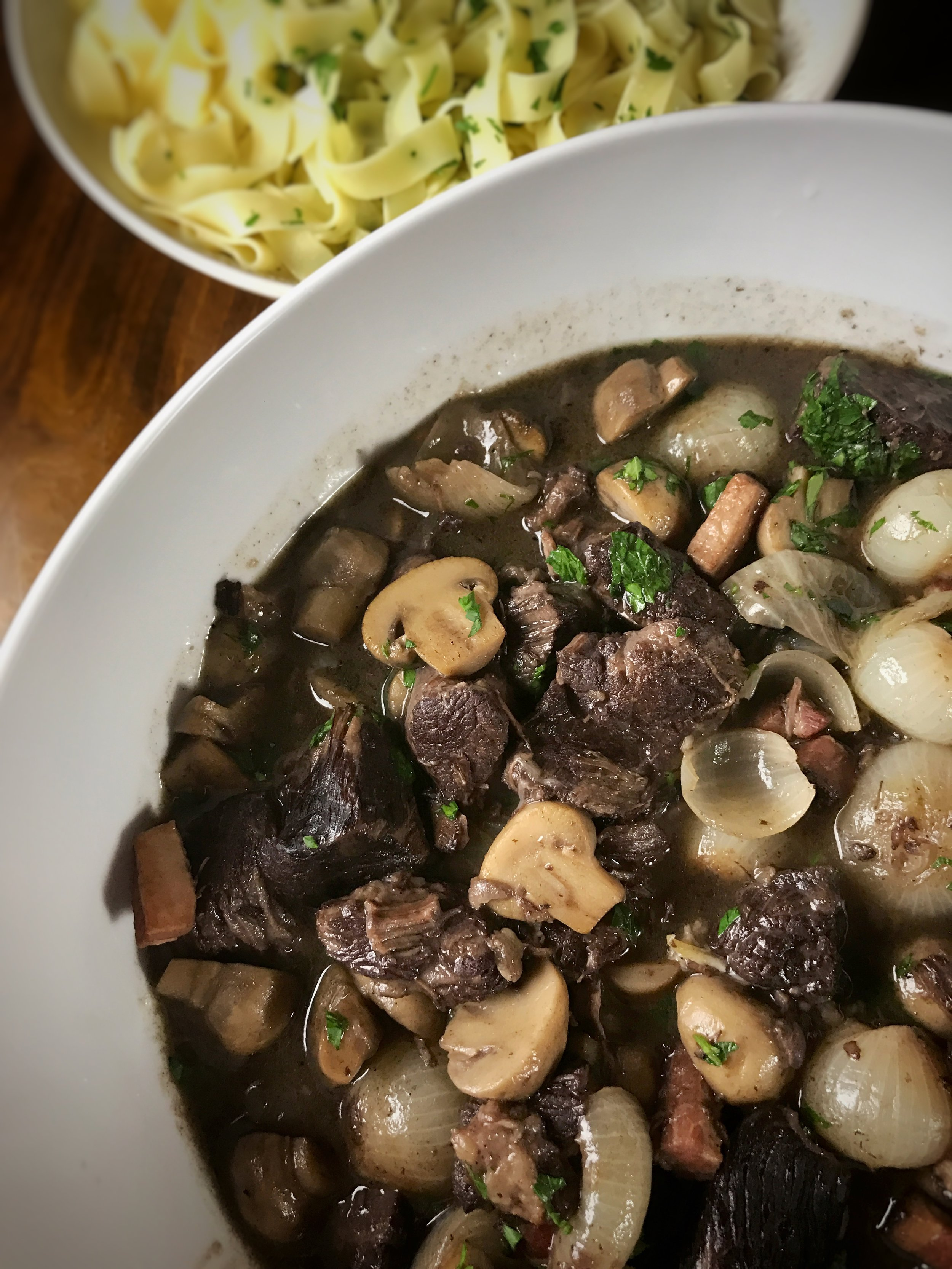 Cooks Without Borders' Beef Bourguignon