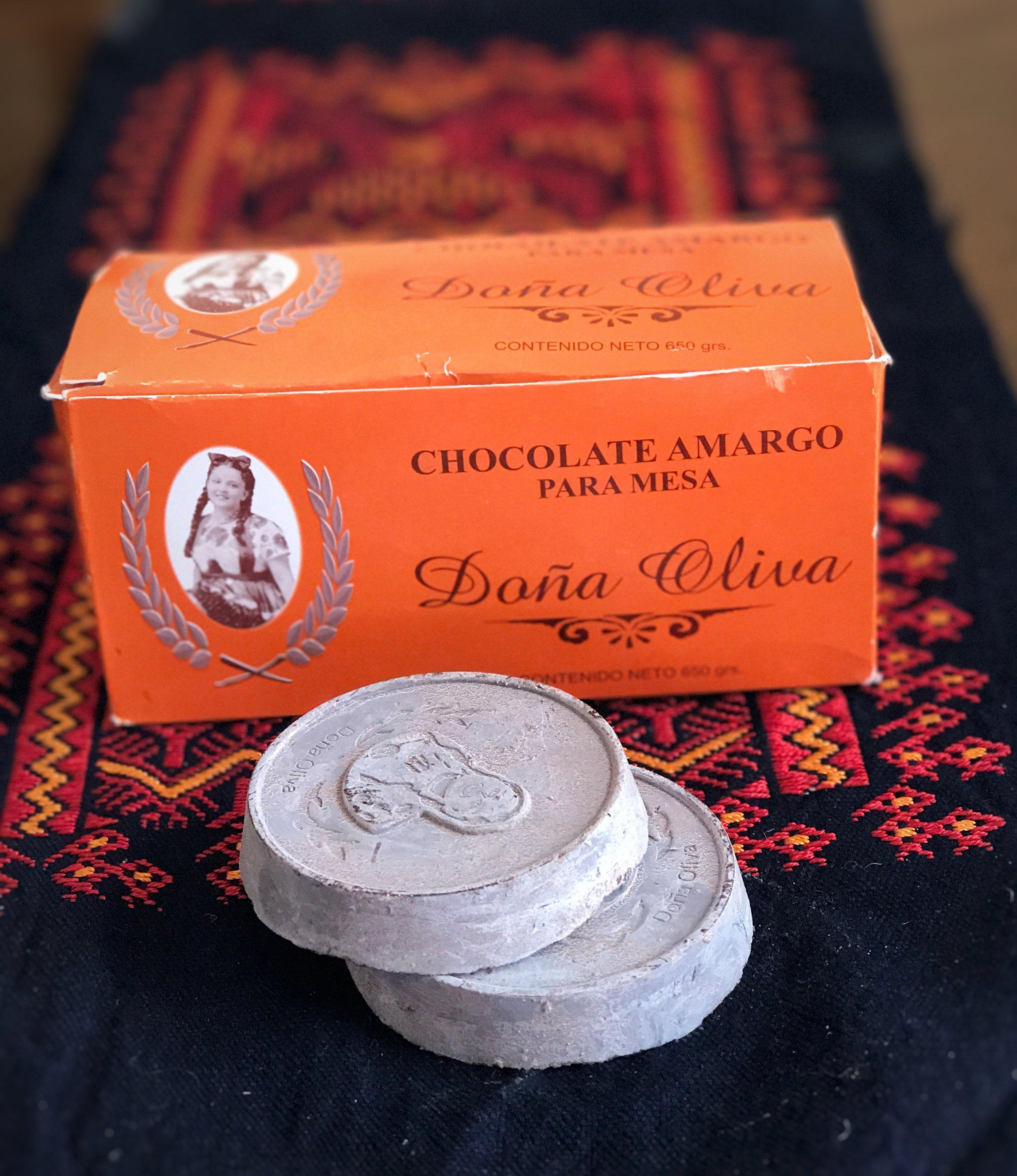 Doña Oliva chocolate amargo
