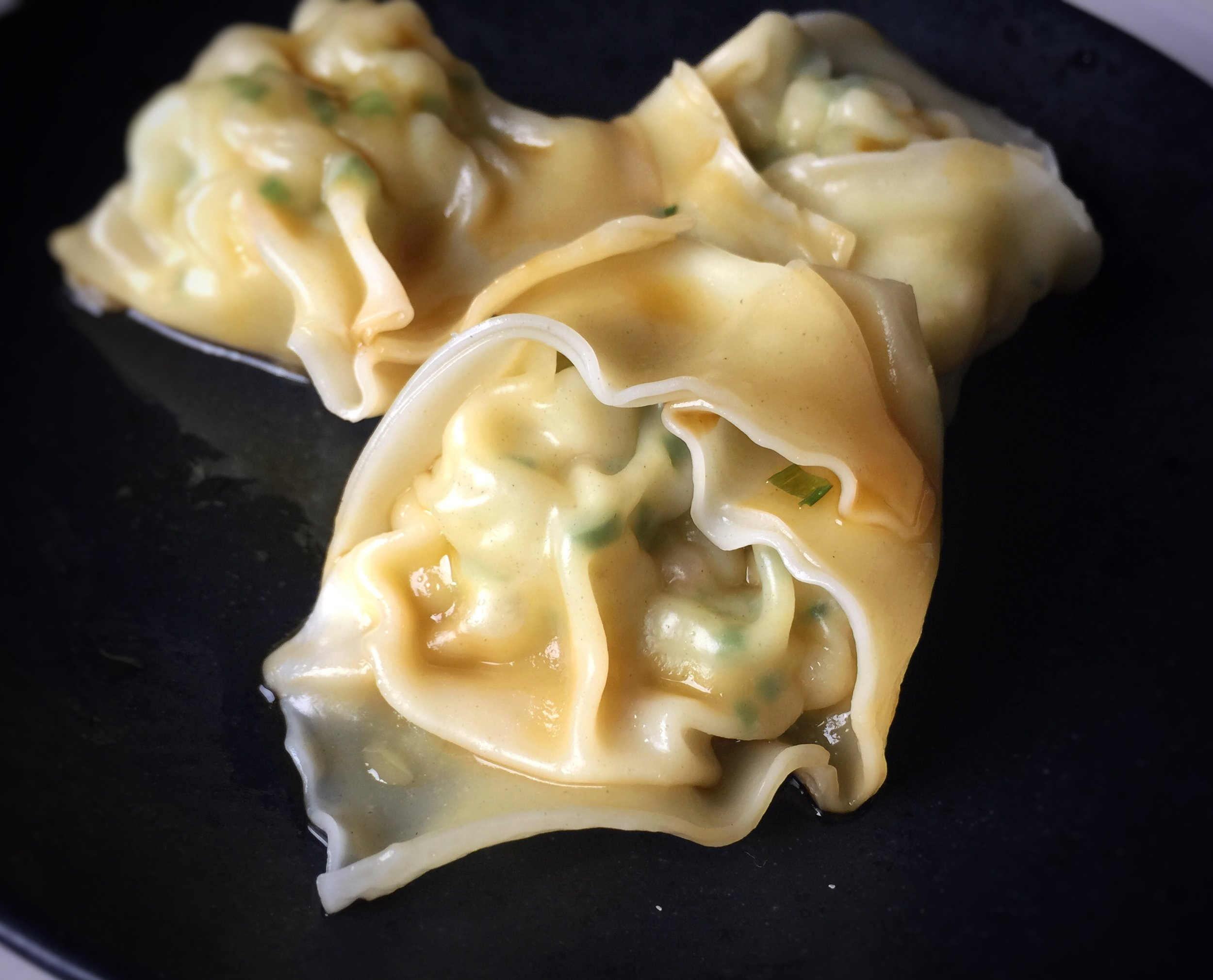 Shrimp and Chive Wontons
