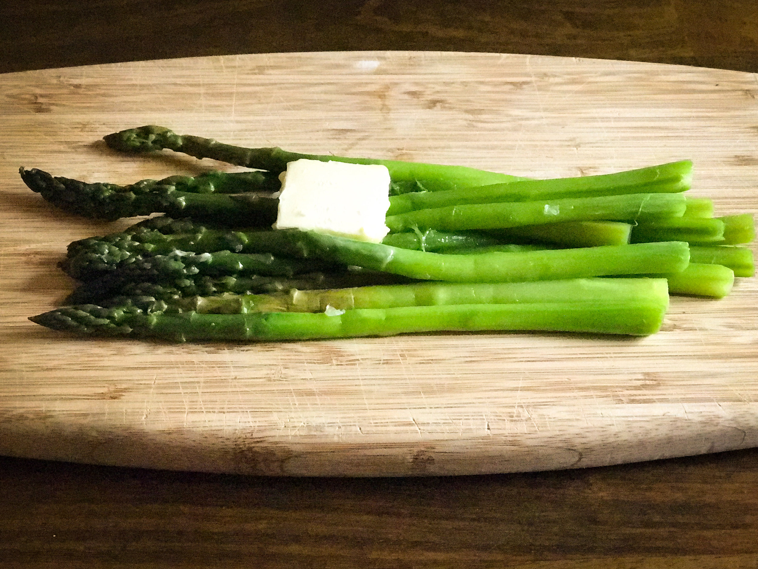 Warm Buttered Asparagus