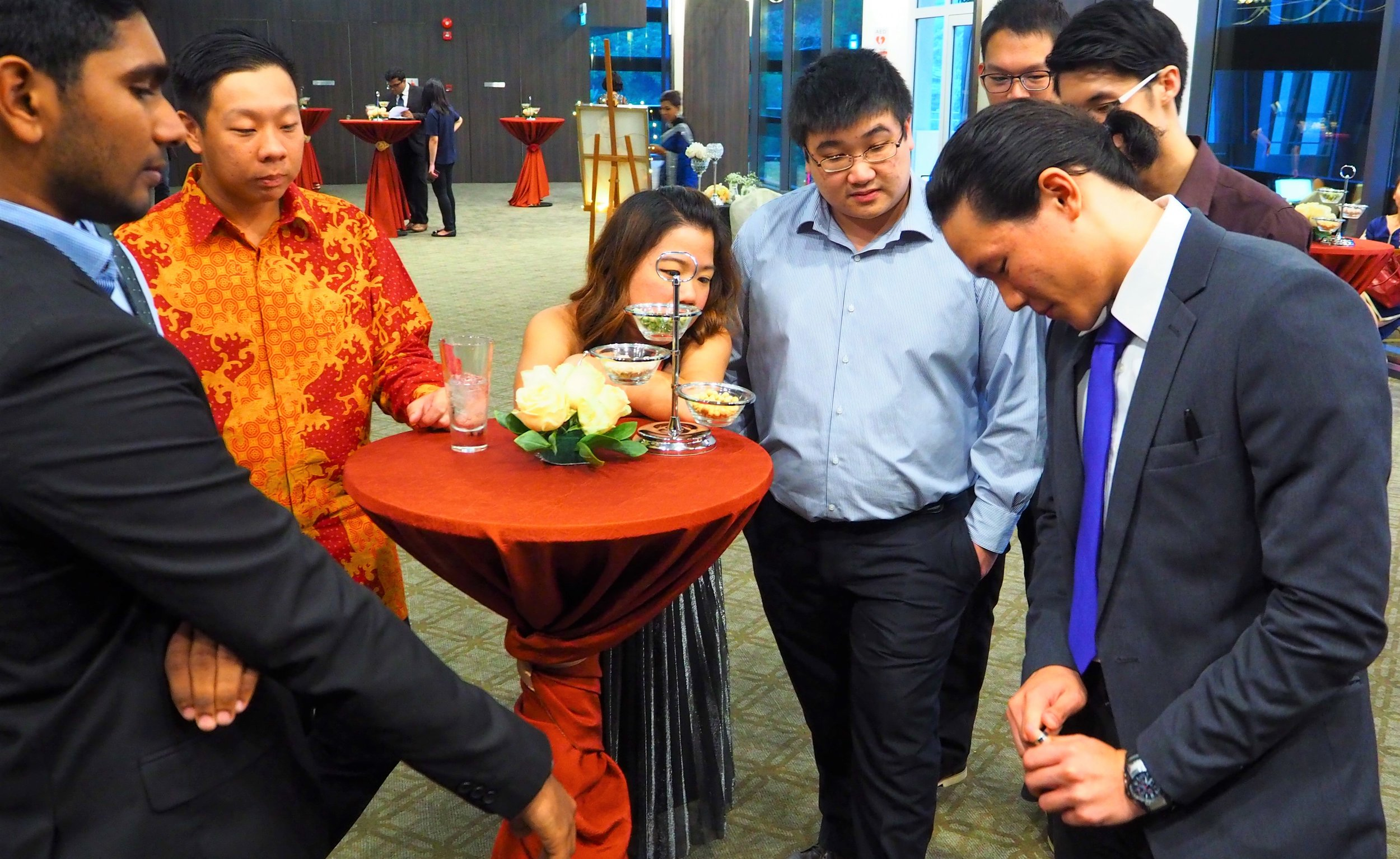 Magician for Weddings Singapore