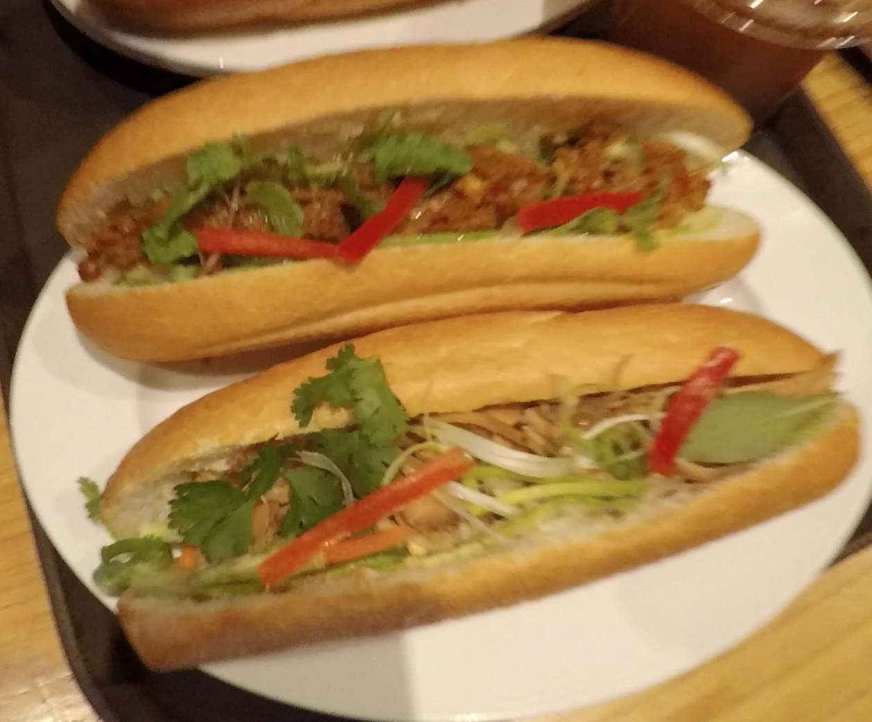 Bánh mì from the restaurant!