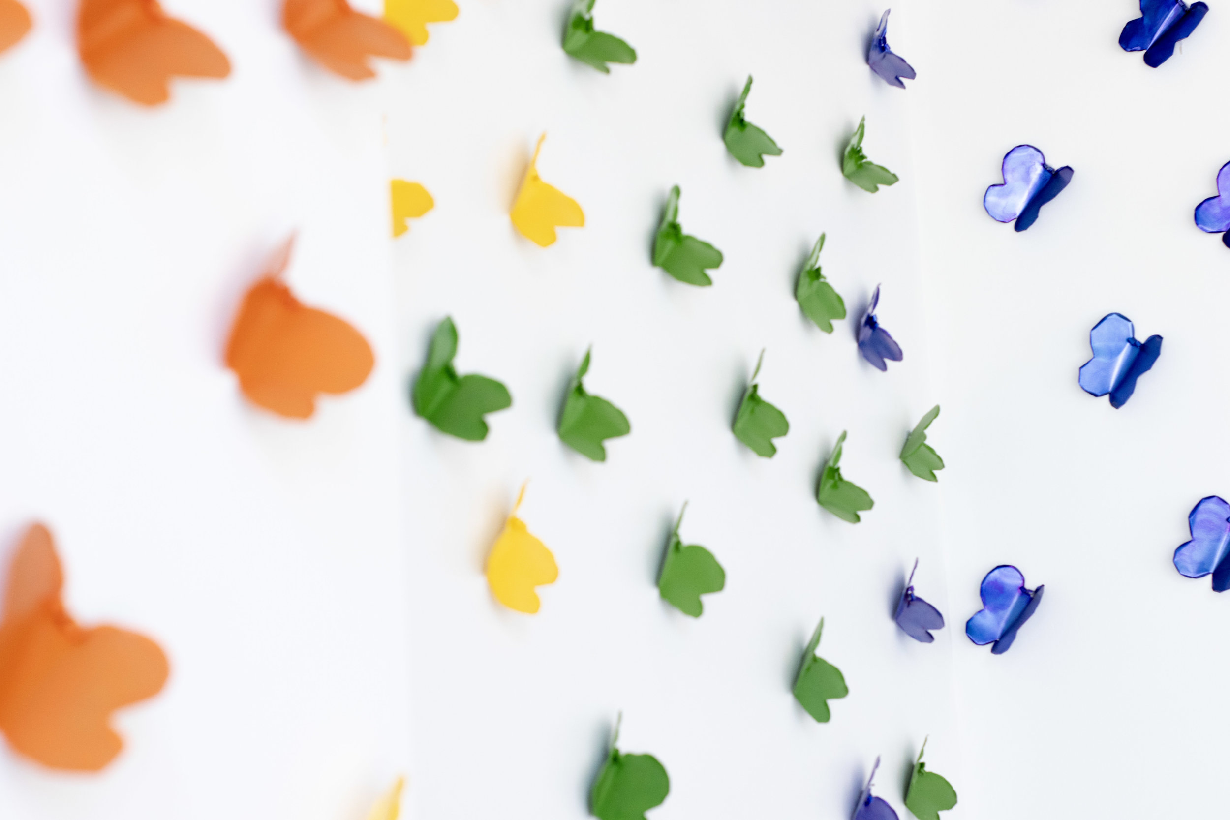 Pride Butterfly Wall handmade by Dr. Gilleon