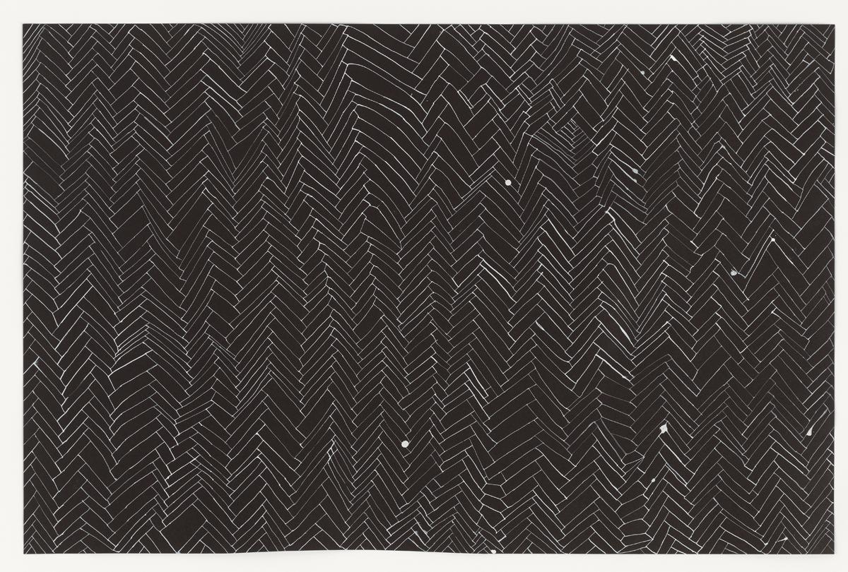 Rachel Whiteread Drawings Black and White Floor, 2001.jpg