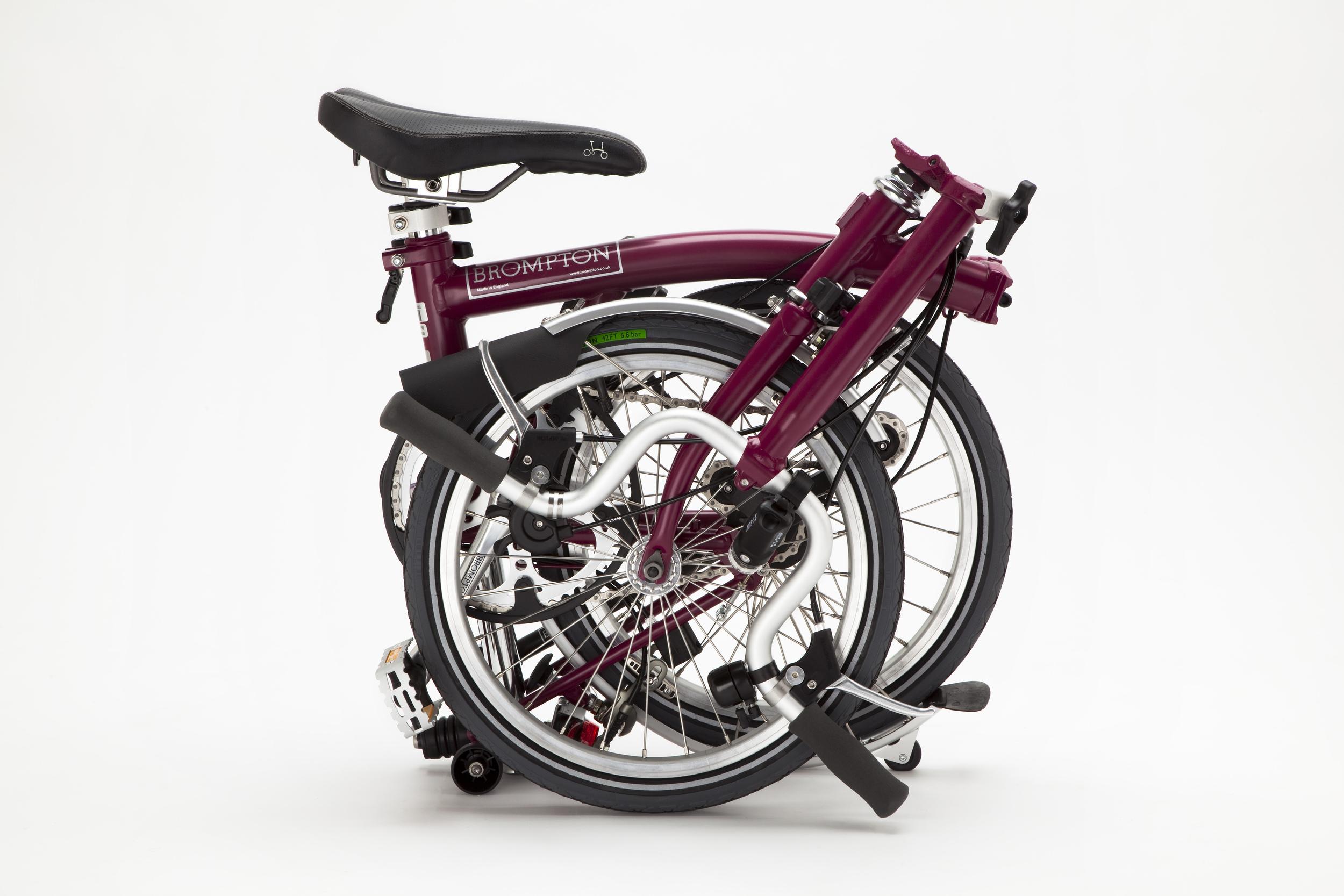 Brompton Bike Folded