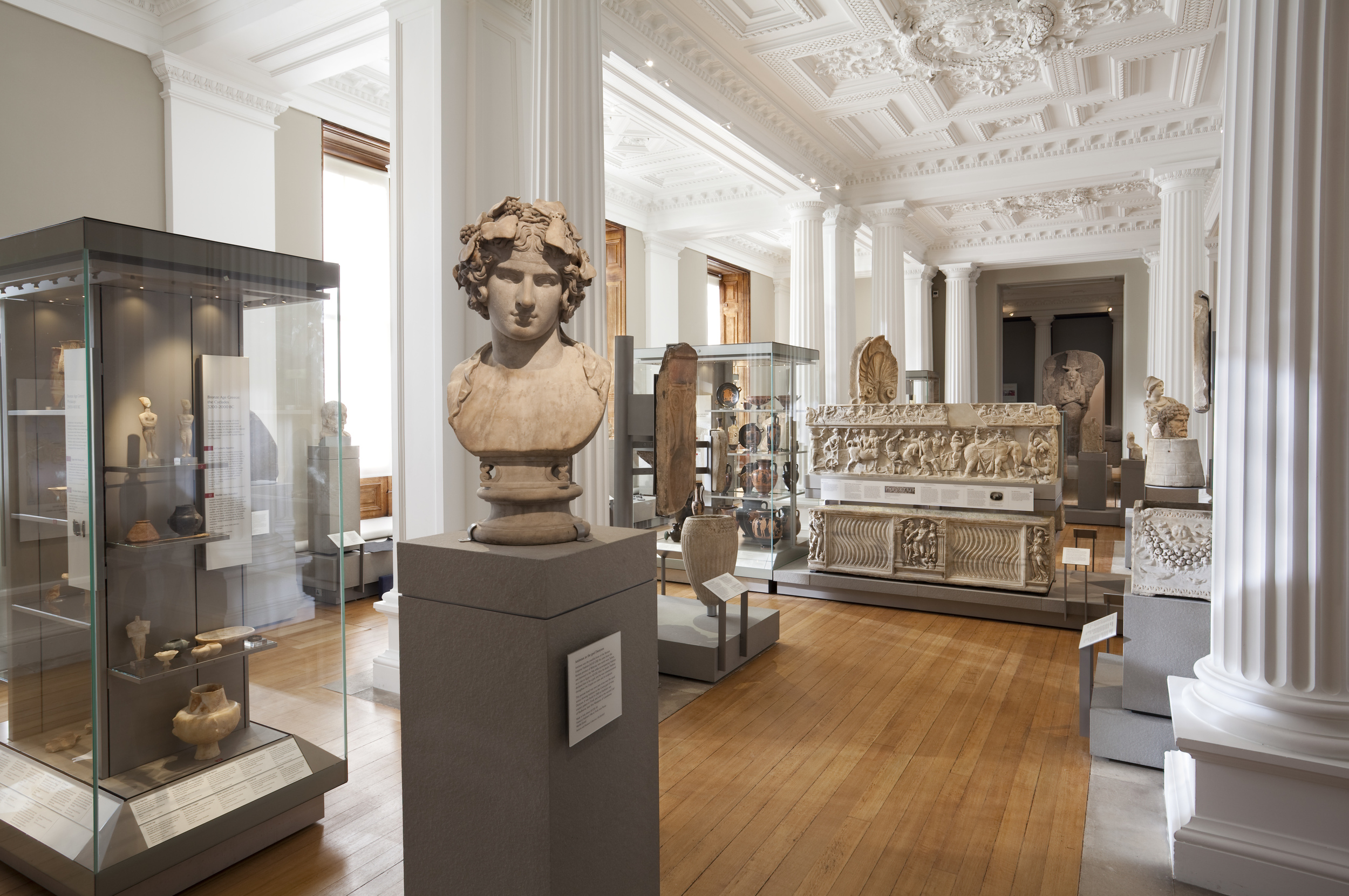 Greek & Roman Room, Fitzwilliam Museum, Cambridge