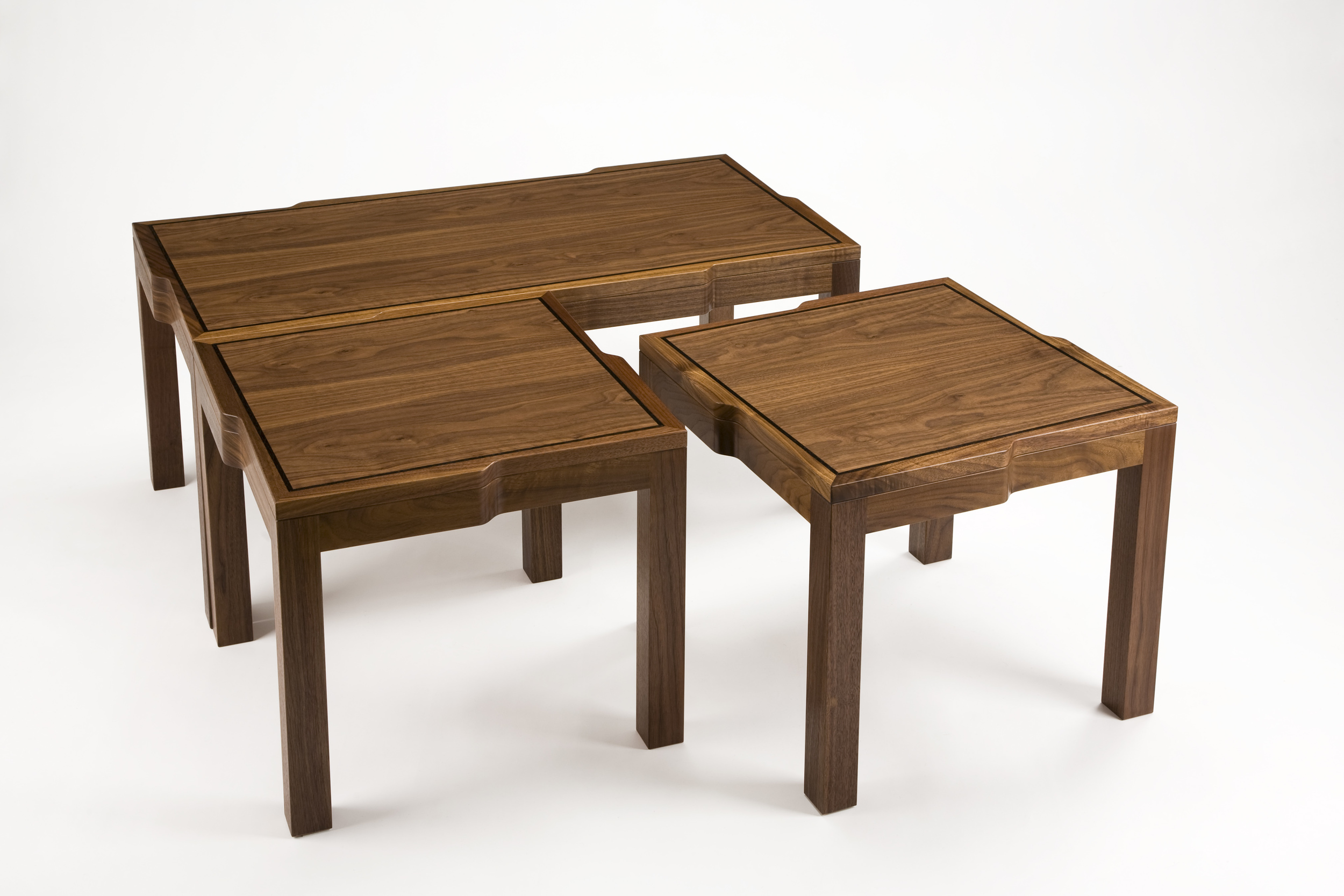 Multipart Coffee Table by Christopher Hughes.
