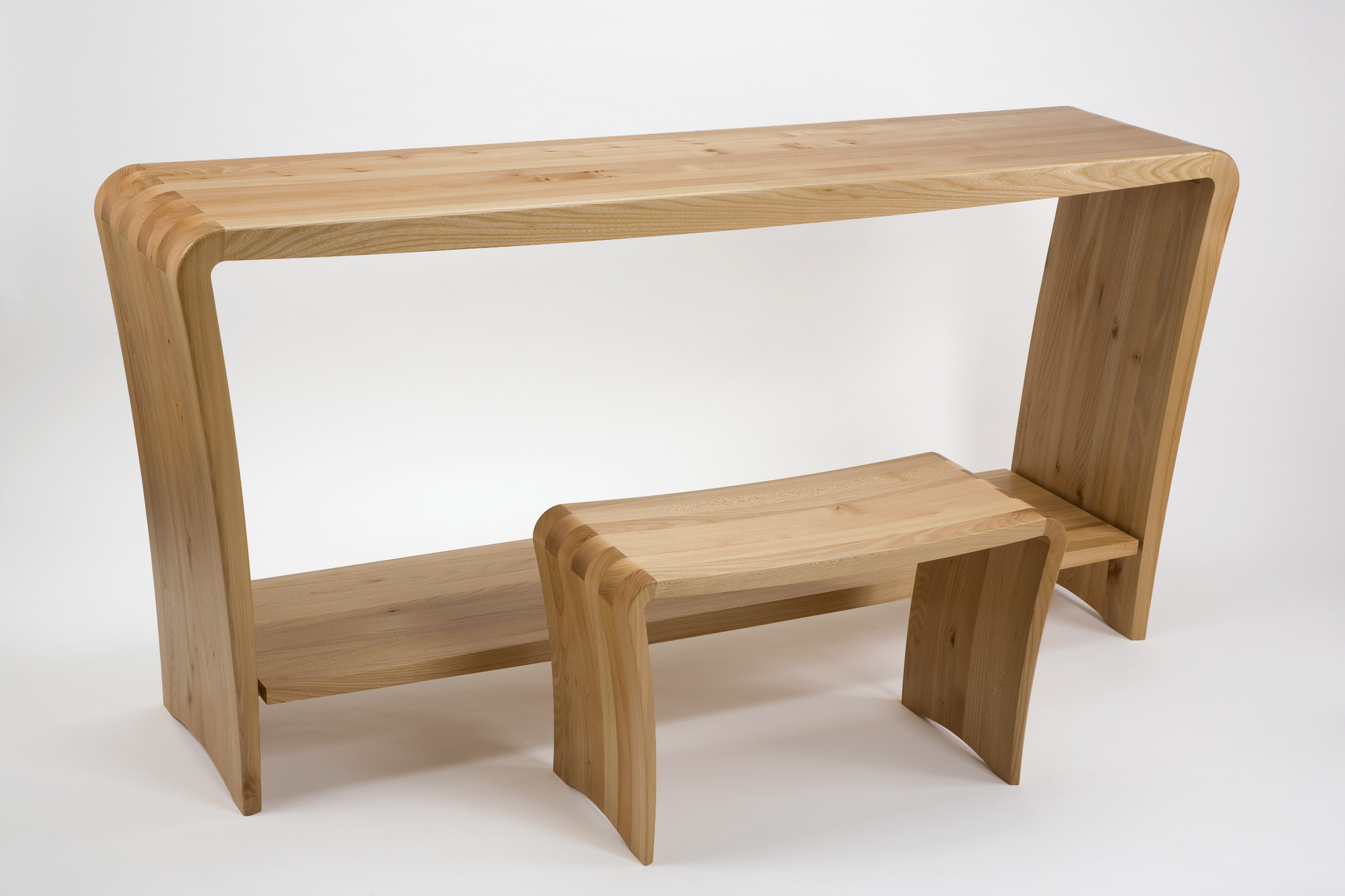 Dressing Table and Seat by Simon Smith.