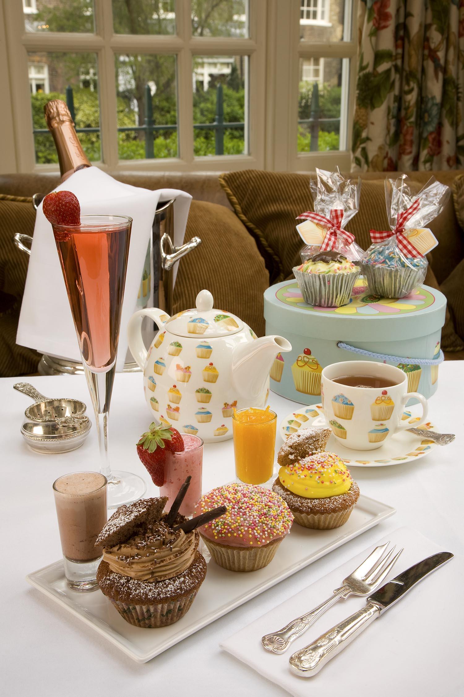 Afternoon Tea, Montague Hotel
