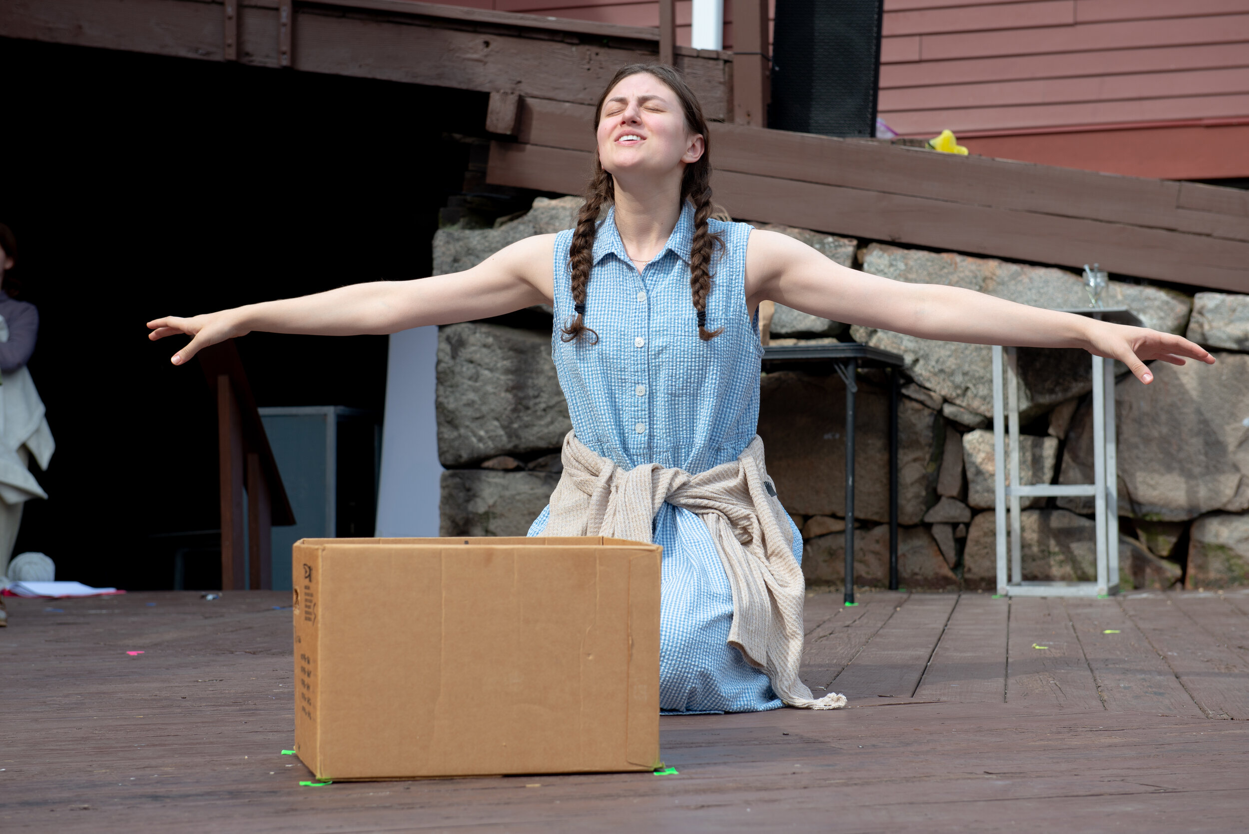 Heirlooms  by Julia Mendez Garcia The Eugene O'Neill Theater Center Pictured: Anna Langlois Photography: Isaak Berliner