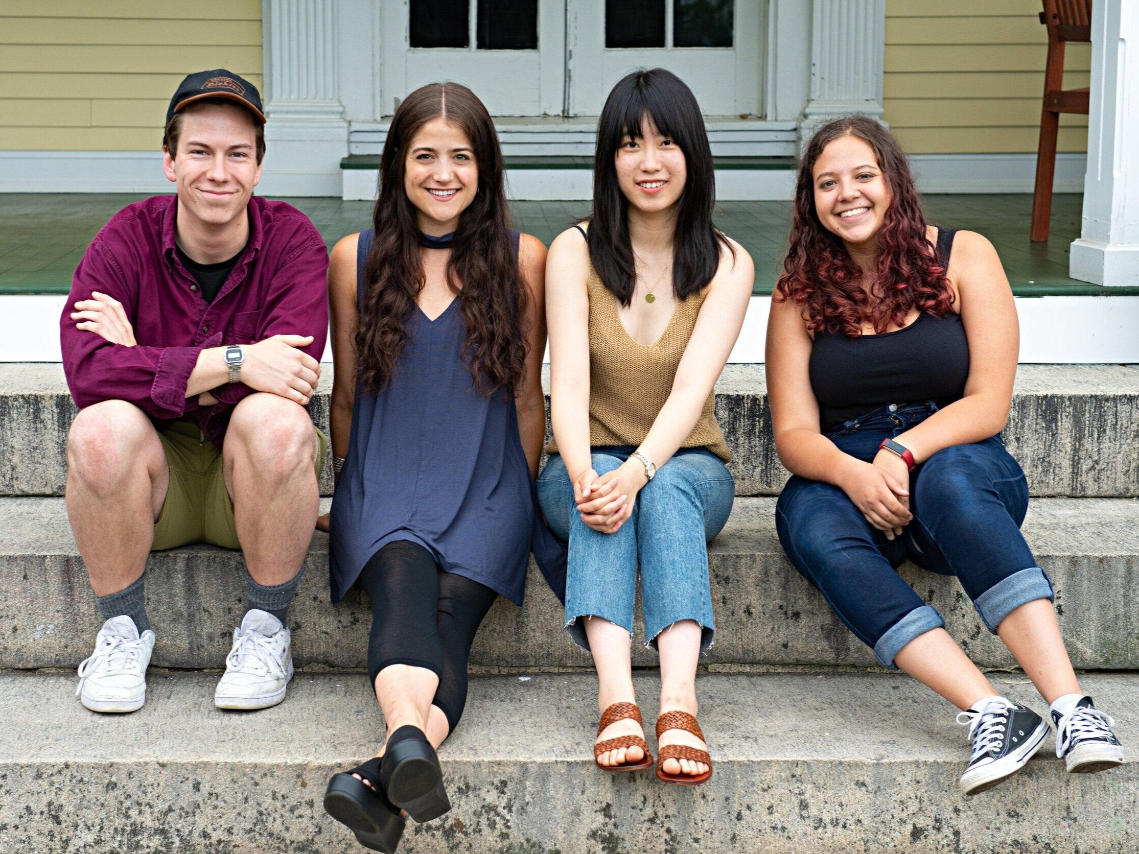 Directors for Theatermakers 2019 at The Eugene O'Neill Theater Center Photographed: Kyle Best, Leslie Roth, Alison Qu & Maria Zurita Ontiveros Photography: Isaak Berliner