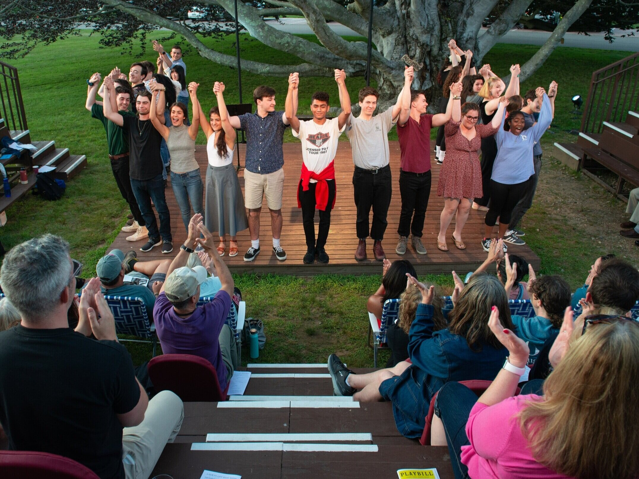 2019 Theatermakers Ensemble at The Eugene O'Neill Theater Center Photography: Isaak Berliner
