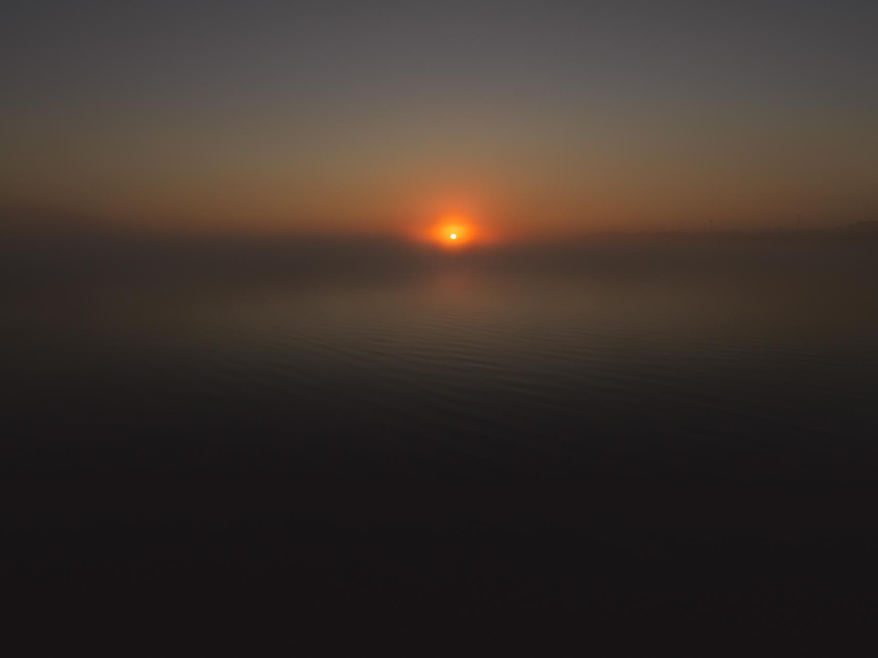 Daybreak at Sesachacha Pond