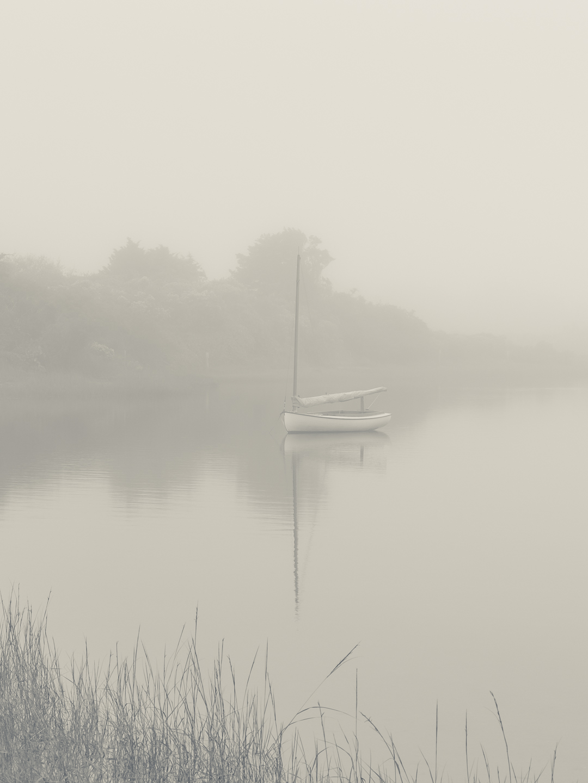 Catboat at Polpis Harbor / October