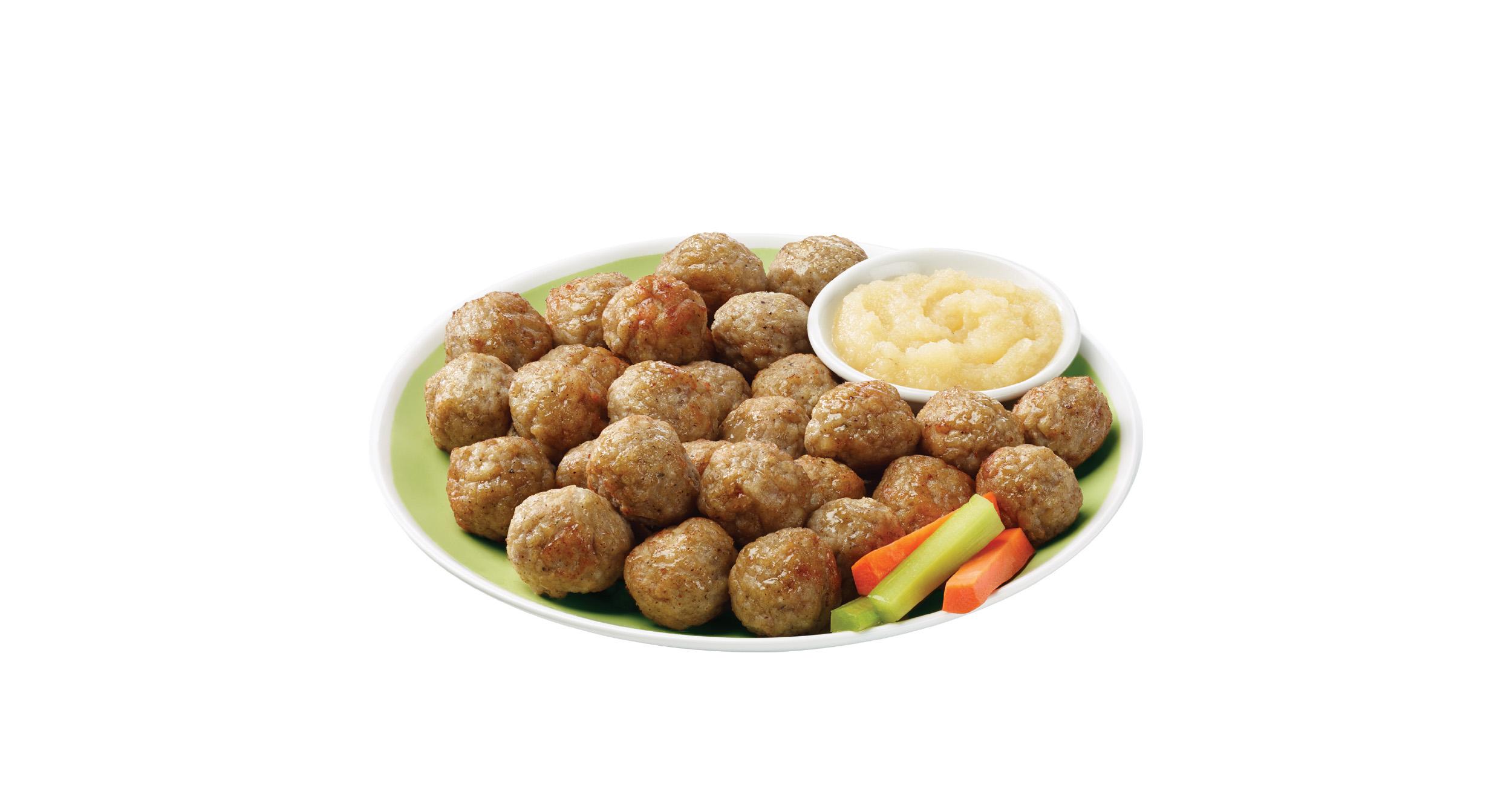 Mom Made Foods antibiotic-free Chicken Apple Meatballs