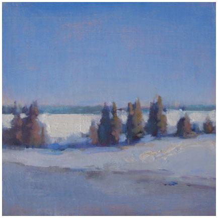 Azure Winter Sky #1
