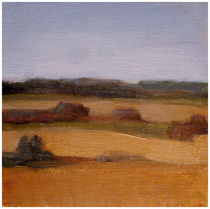 Rolling Hills, French Countryside